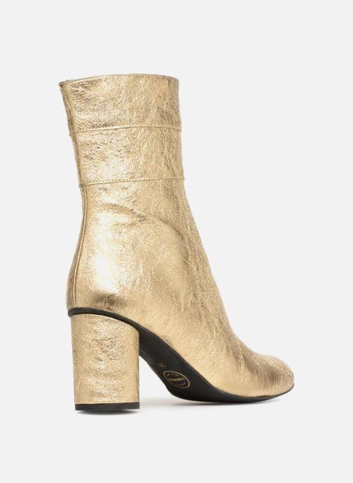 Stivaletti e tronchetti Made by SARENZA Pastel Affair Boots #2 Oro e bronzo immagine frontale