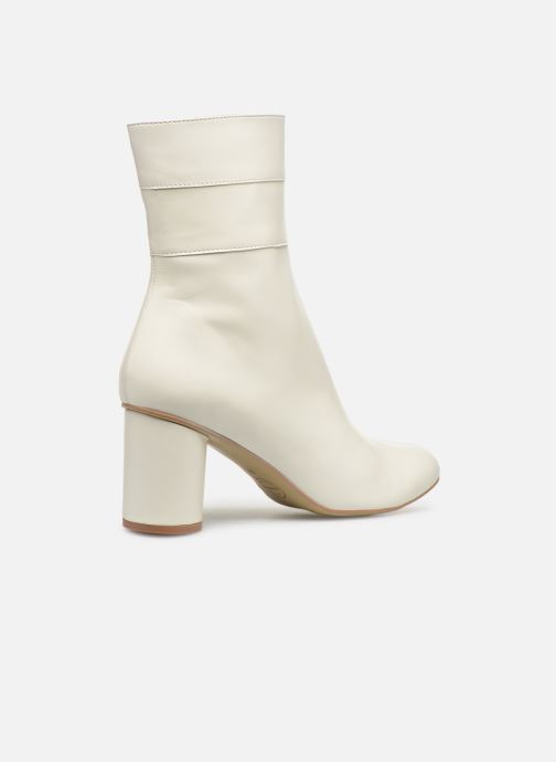 Botines  Made by SARENZA Pastel Affair Boots #2 Blanco vista de frente