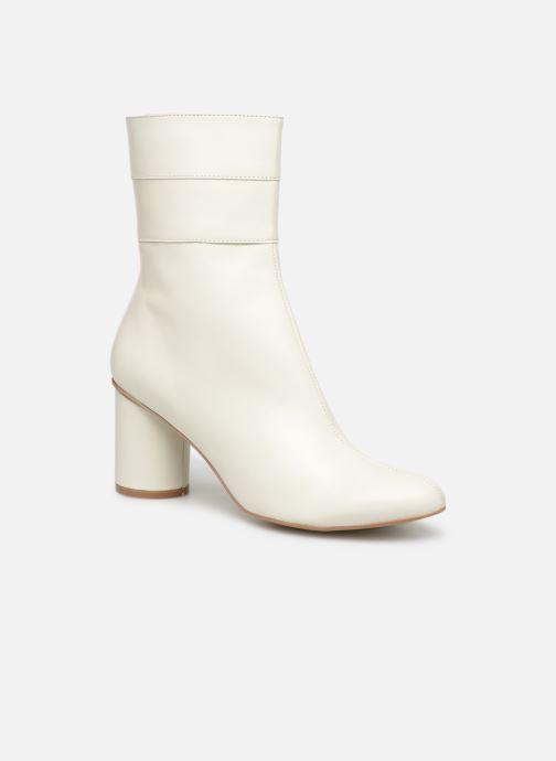 Botines  Made by SARENZA Pastel Affair Boots #2 Blanco vista lateral derecha