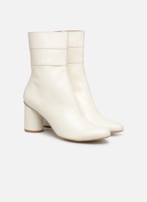 Ankelstøvler Made by SARENZA Pastel Affair Boots #2 Hvid se bagfra