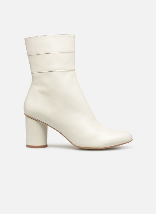 Ankle boots Made by SARENZA Pastel Affair Boots #2 White detailed view/ Pair view