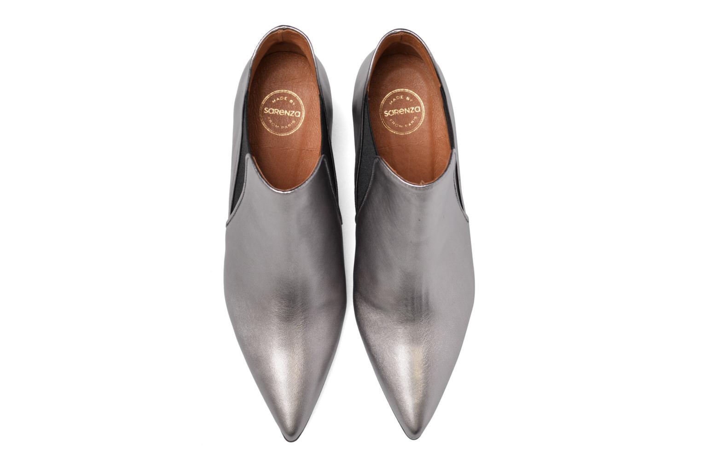 Bottines et boots Made by SARENZA Glamatomic #7 Argent vue portées chaussures