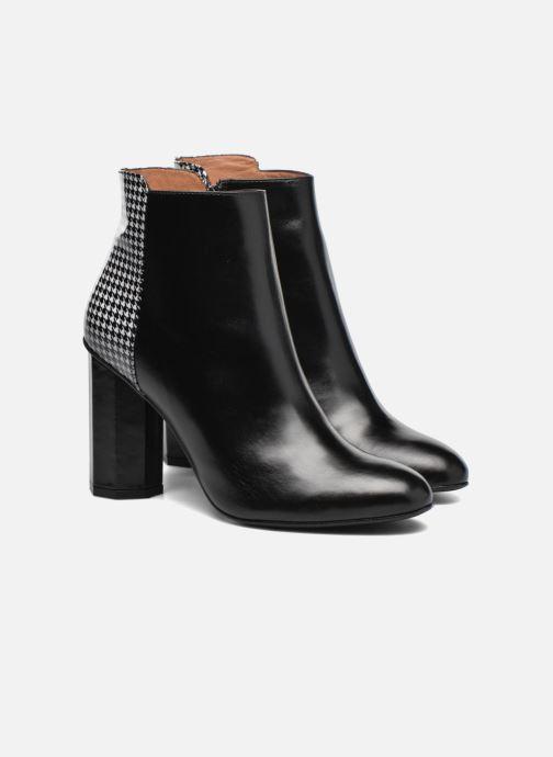 Bottines et boots Made by SARENZA West Mister #15 Noir vue derrière