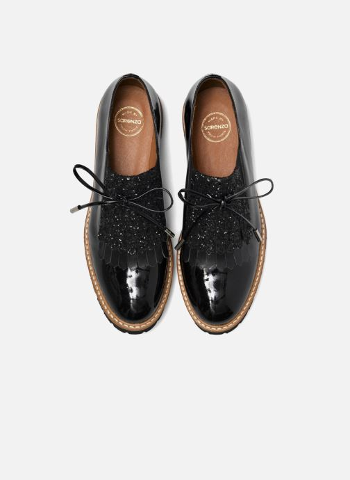 Mocassins Made by SARENZA Busy Girl Chaussures à Lacets #2 Noir vue portées chaussures