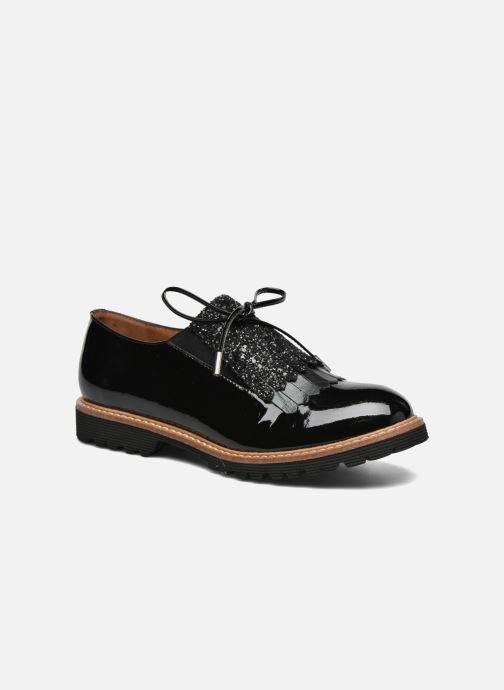 Mocassins Made by SARENZA Busy Girl Chaussures à Lacets #2 Noir vue droite