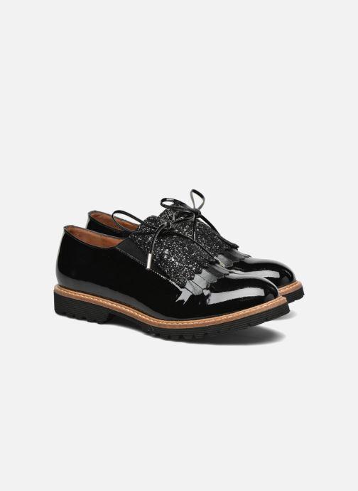 Mocassins Made by SARENZA Busy Girl Chaussures à Lacets #2 Noir vue derrière