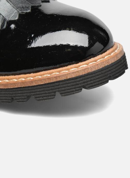 Mocassins Made by SARENZA Busy Girl Chaussures à Lacets #2 Noir vue gauche