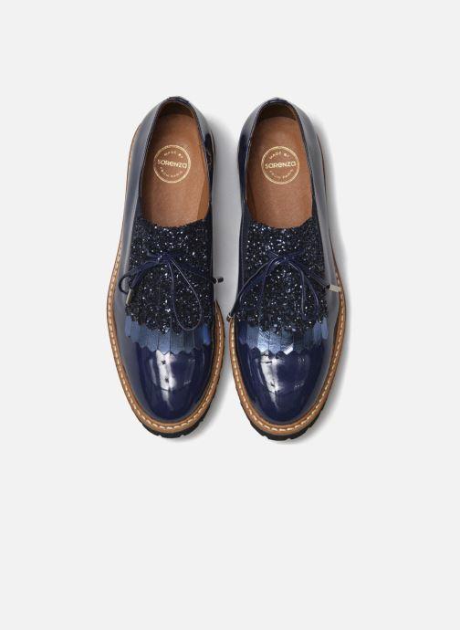 Slipper Made by SARENZA Busy Girl Chaussures à Lacets #2 blau schuhe getragen