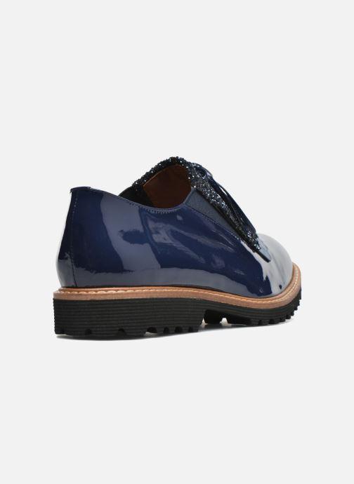 Slipper Made by SARENZA Busy Girl Chaussures à Lacets #2 blau ansicht von vorne