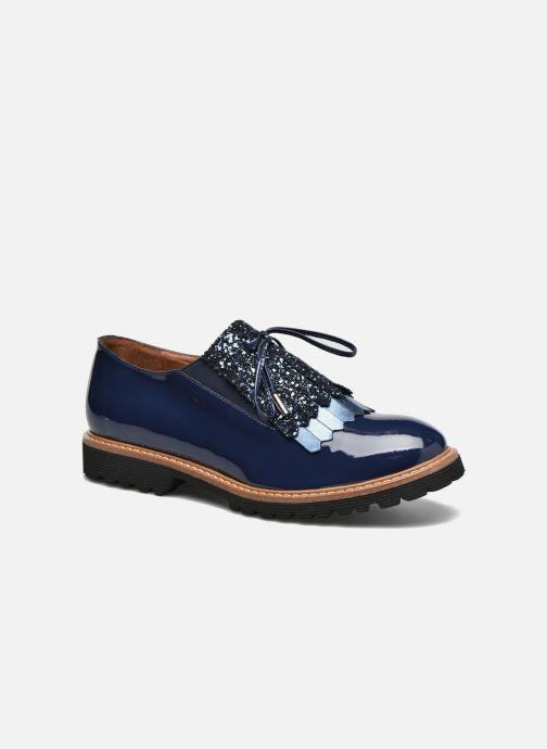 Mocassins Made by SARENZA Busy Girl Chaussures à Lacets #2 Bleu vue droite