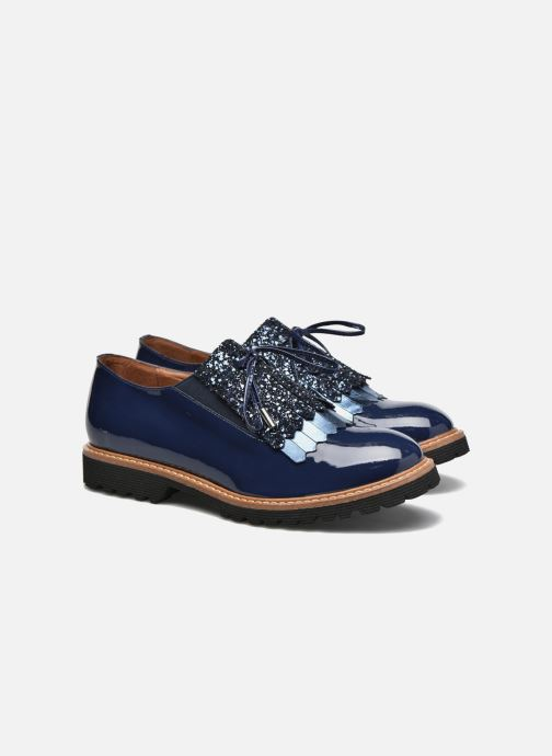 Mocassins Made by SARENZA Busy Girl Chaussures à Lacets #2 Bleu vue derrière