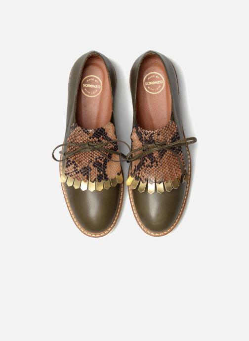 Slipper Made by SARENZA Busy Girl Chaussures à Lacets #2 grün schuhe getragen