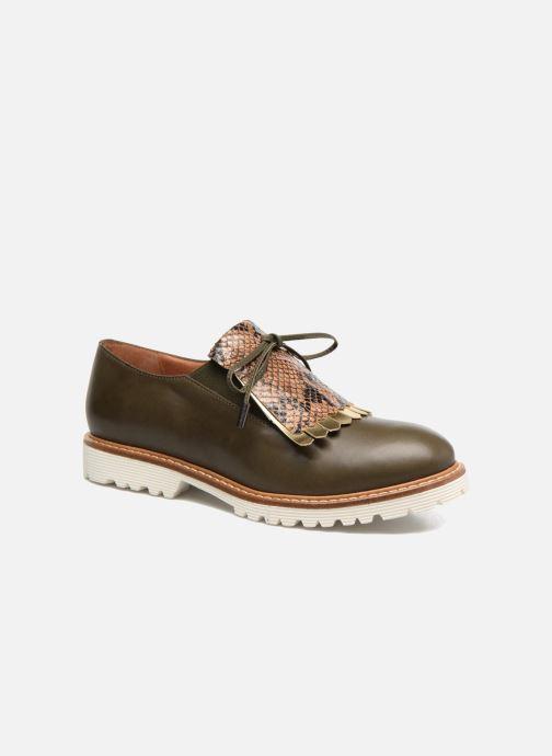 Slipper Made by SARENZA Busy Girl Chaussures à Lacets #2 grün ansicht von rechts