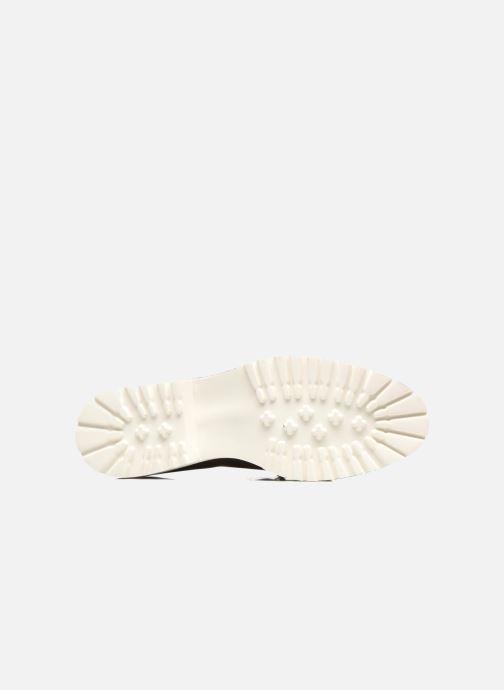 Mocassins Made by SARENZA Busy Girl Chaussures à Lacets #2 Vert vue haut