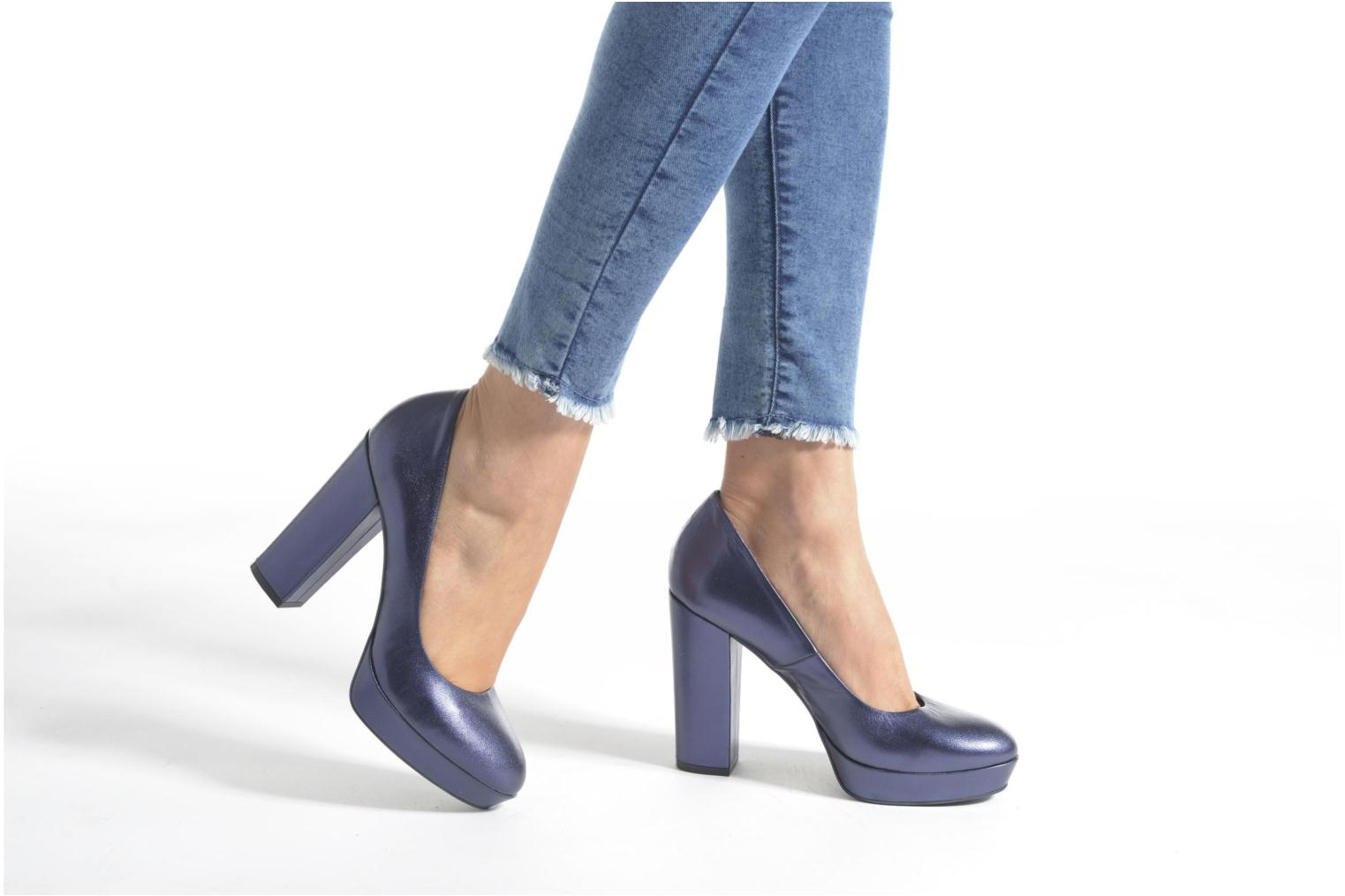 Pumps Made by SARENZA Glossy Cindy #7 Blauw onder