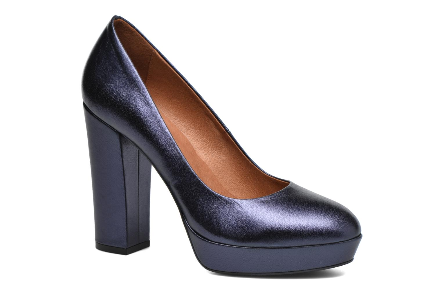 Pumps Made by SARENZA Glossy Cindy #7 Blauw rechts