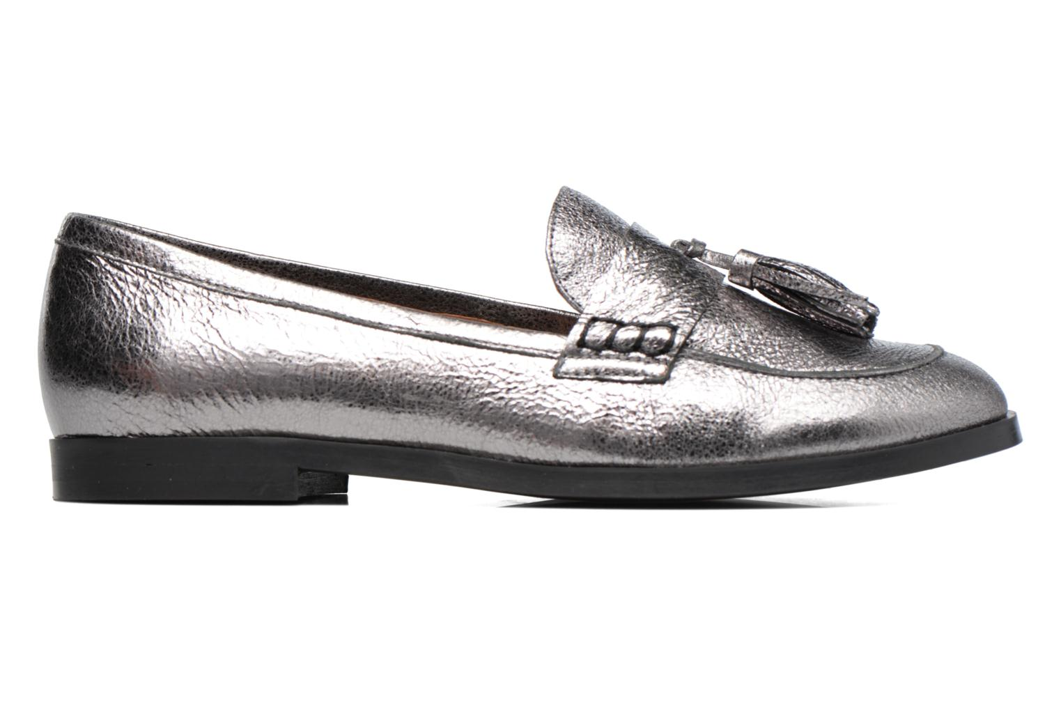 Loafers Made by SARENZA Partygloo #10 Silver detailed view/ Pair view