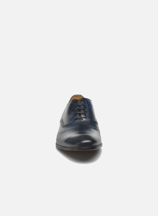 Scarpe con lacci Marvin&Co Newry Azzurro modello indossato