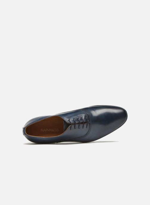 Chaussures à lacets Marvin&Co Newry Bleu vue gauche