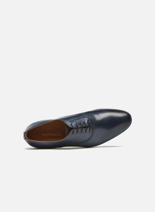 Scarpe con lacci Marvin&Co Newry Azzurro immagine sinistra