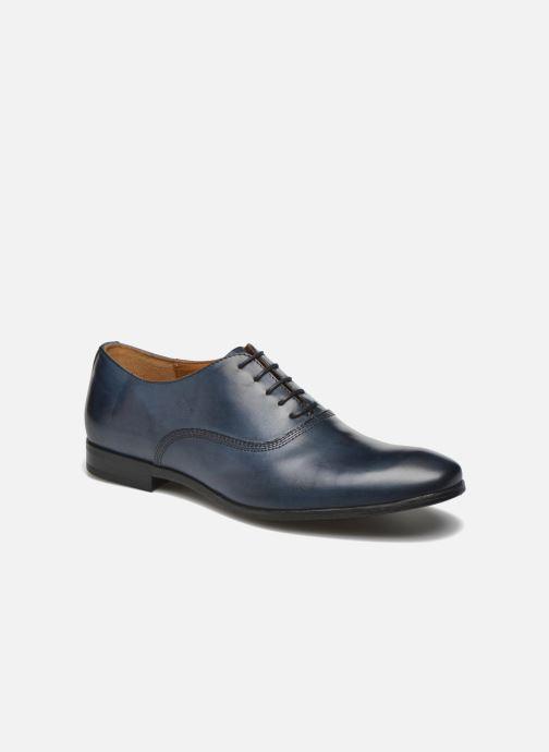 Chaussures à lacets Marvin&Co Newry Bleu vue détail/paire