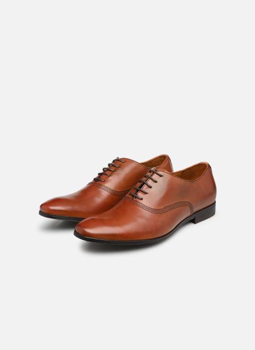 Chaussures à lacets Marvin&Co Newry Marron vue bas / vue portée sac