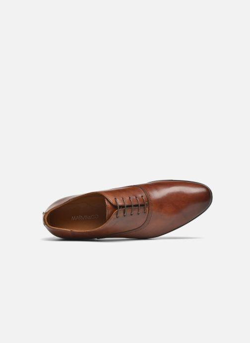 Zapatos con cordones Marvin&Co Newry Marrón vista lateral izquierda