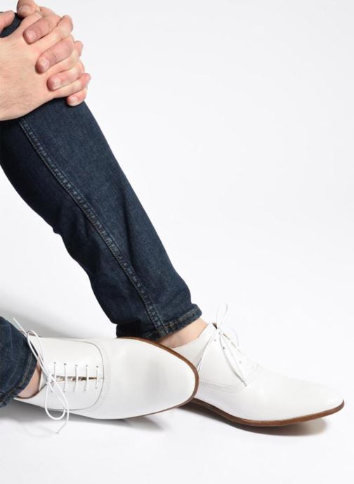 Lace-up shoes Marvin&co Newry White view from underneath / model view