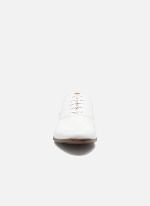 Chaussures à lacets Marvin&Co Newry Blanc vue portées chaussures
