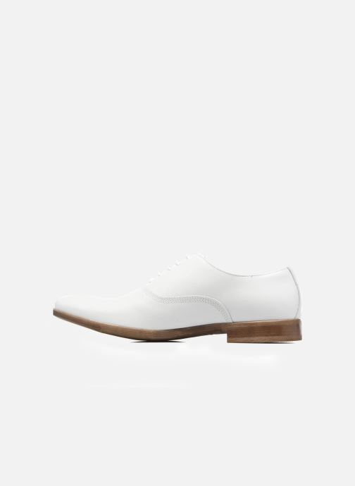 Zapatos con cordones Marvin&Co Newry Blanco vista de frente
