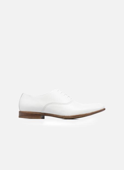 Zapatos con cordones Marvin&Co Newry Blanco vistra trasera