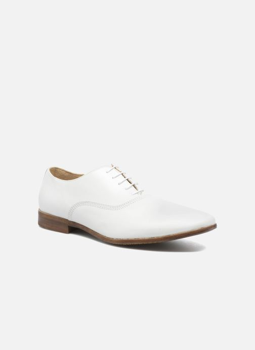 Lace-up shoes Marvin&co Newry White detailed view/ Pair view