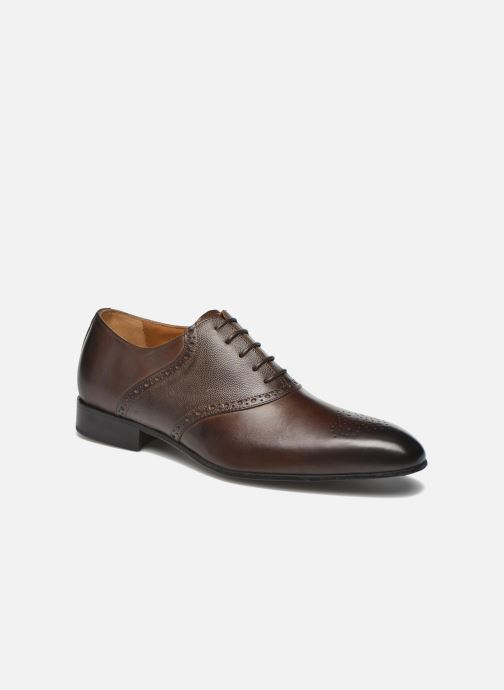 Lace-up shoes Marvin&co Newquay Brown detailed view/ Pair view
