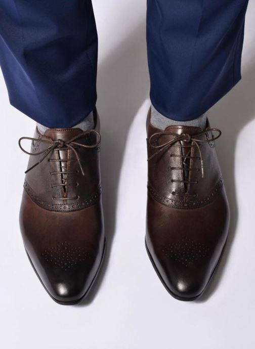 Scarpe con lacci Marvin&Co Newquay Azzurro immagine dal basso