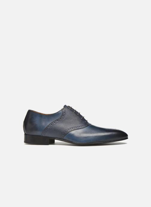 Lace-up shoes Marvin&co Newquay Blue back view