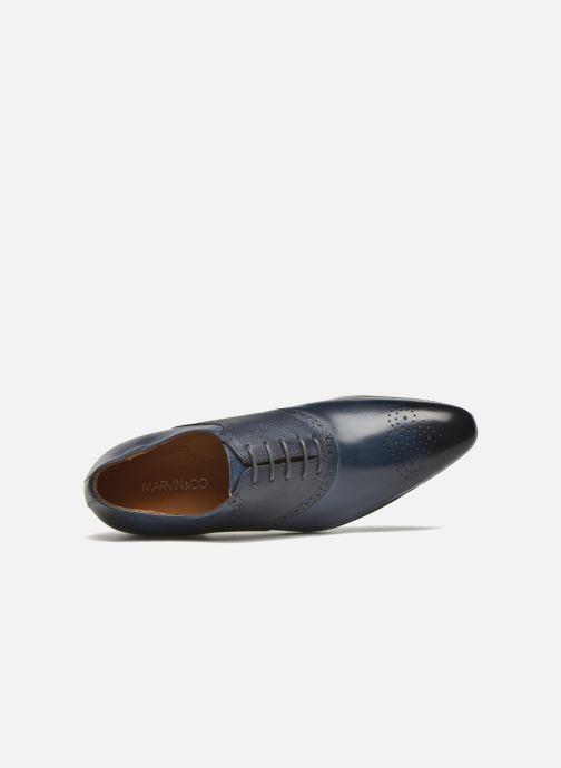 Scarpe con lacci Marvin&Co Newquay Azzurro immagine sinistra