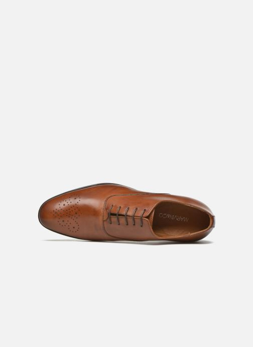 Lace-up shoes Marvin&co Newmilton Brown view from the left