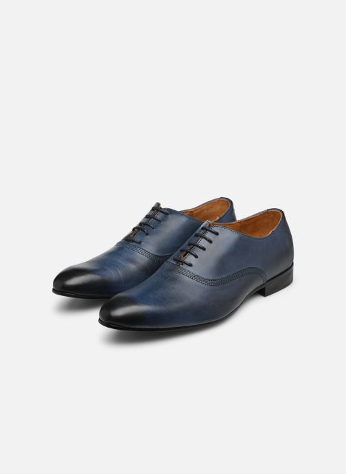 Lace-up shoes Marvin&co Norwich Blue view from underneath / model view