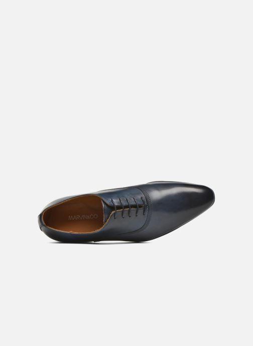 Chaussures à lacets Marvin&Co Norwich Bleu vue gauche
