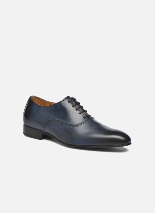 Lace-up shoes Marvin&co Norwich Blue detailed view/ Pair view