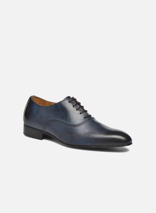 Chaussures à lacets Marvin&Co Norwich Bleu vue détail/paire