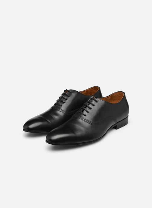 Schnürschuhe Marvin&Co Norwich schwarz ansicht von unten / tasche getragen