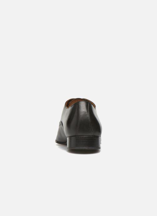 Zapatos con cordones Marvin&Co Norwich Negro vista lateral derecha