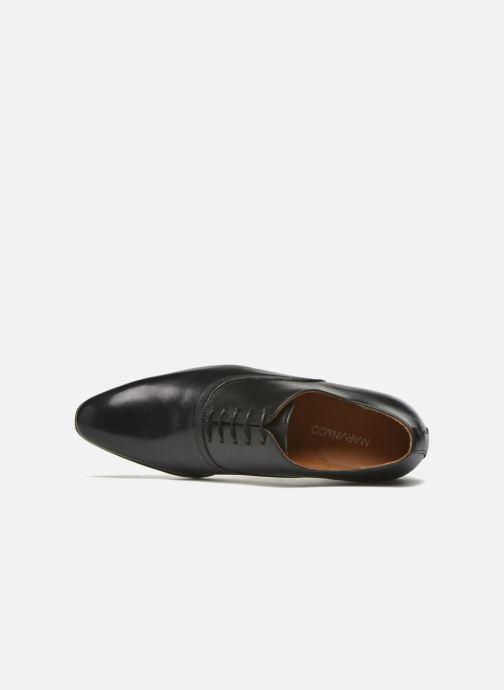 Zapatos con cordones Marvin&Co Norwich Negro vista lateral izquierda