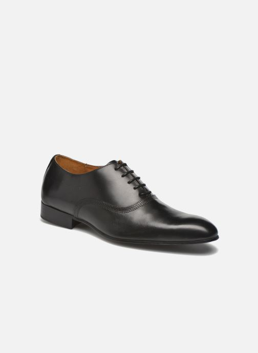 Lace-up shoes Marvin&co Norwich Black detailed view/ Pair view