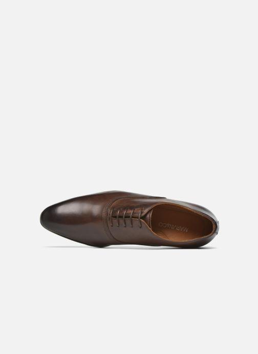 Zapatos con cordones Marvin&Co Norwich Marrón vista lateral izquierda