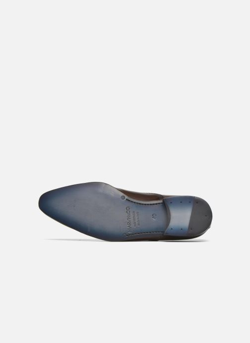 Chaussures à lacets Marvin&Co Norwich Marron vue haut