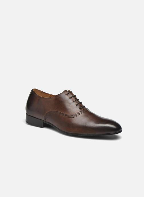 Zapatos con cordones Marvin&Co Norwich Marrón vista de detalle / par