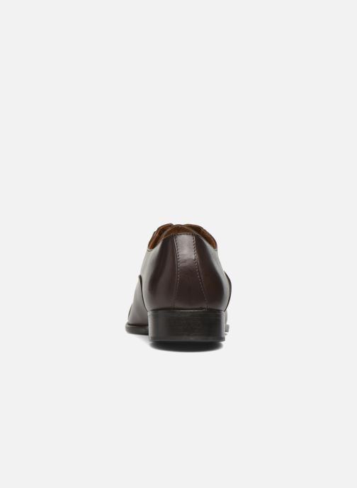 Lace-up shoes Marvin&co Norwood Brown view from the right