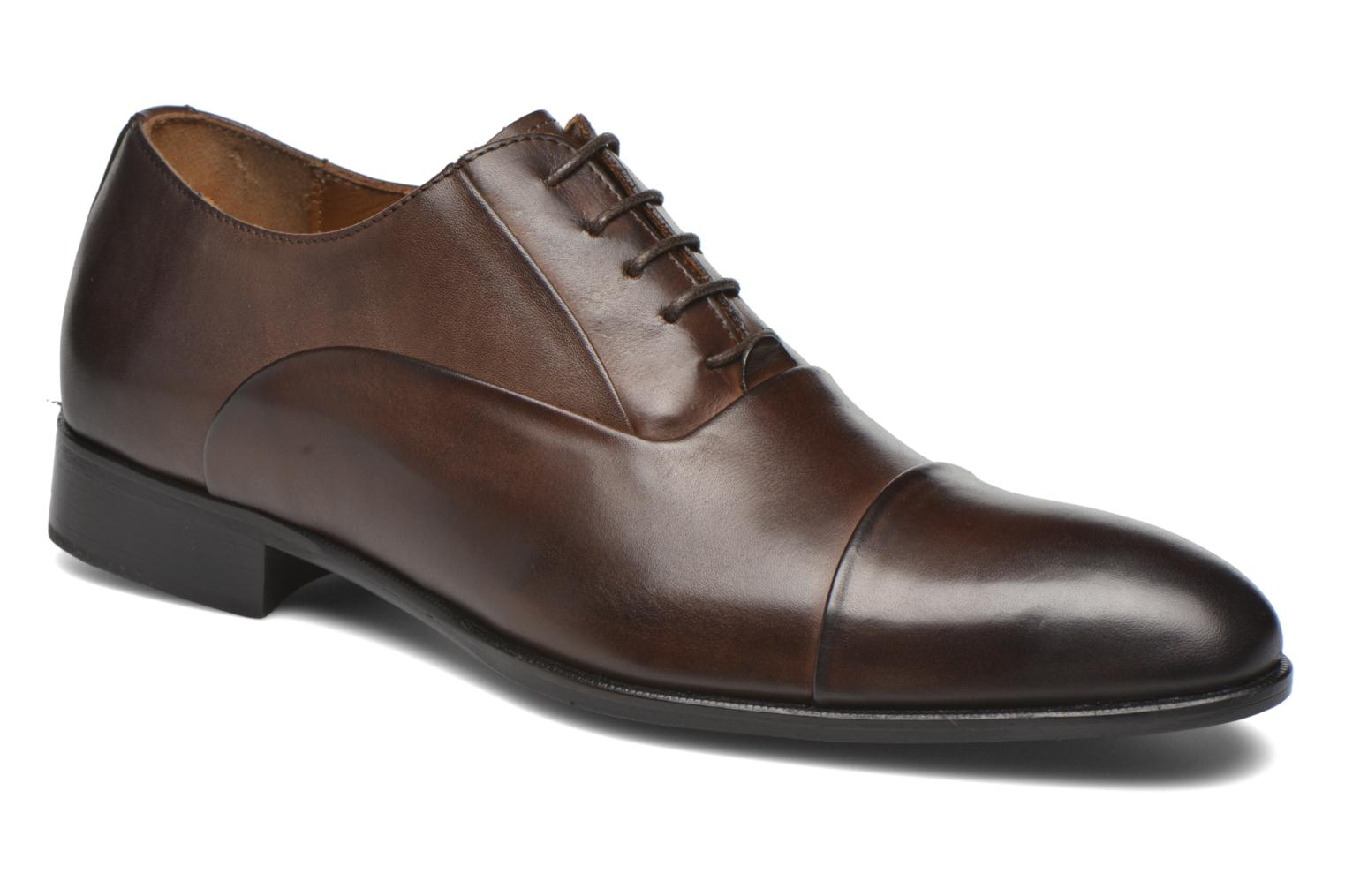 Veterschoenen Marvin&Co Norwood Bruin detail